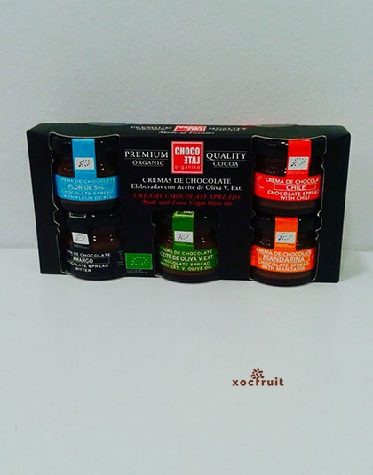 Pack Cremas Chocolate 30gr.