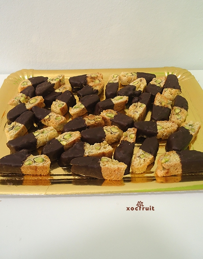 Carquinyolis de festucs i xocolata